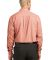 Port Authority Plaid Pattern Easy Care Shirt S639 Orange