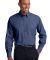 Port Authority Crosshatch Easy Care Shirt S640 Deep Blue