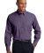 Port Authority Crosshatch Easy Care Shirt S640 Grape Harvest