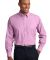 Port Authority Crosshatch Easy Care Shirt S640 Pink Orchid