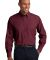 Port Authority Crosshatch Easy Care Shirt S640 Red Oxide