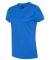 Hanes Ladies Nano T Cotton T Shirt SL04 Blue Bell Breeze