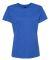 Hanes Ladies Nano T Cotton T Shirt SL04 Heather Blue