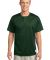 Sport Tek PosiCharge Tough Mesh153 Henley ST215 Forest Green