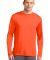 Sport Tek Long Sleeve Competitor153 Tee ST350LS Neon Orange
