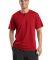 Sport Tek Short Sleeve Henley T210 Red