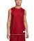 Sport Tek PosiCharge Mesh153 Reversible Sleeveless True Red/White