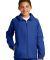 Sport Tek Youth Hooded Raglan Jacket YST73 True Royal