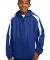 Sport Tek Youth Fleece Lined Colorblock Jacket YST True Royal/Wht