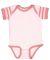 4400 Onsie Rabbit Skins® Infant Lap Shoulder Cree BLRNA/ MVL/ B M