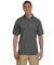 Gildan 3800 Ultra Cotton Pique Knit Sport Shirt DARK HEATHER