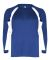 2154 Badger Youth Performance Long-Sleeve Hook Ath Royal/ White