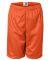 2207 Badger Youth Mesh/Tricot 6-Inch Shorts Burnt Orange