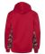 2464 Badger Colorblock Practice Youth Polyester Pe Red/ Red