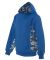 2464 Badger Colorblock Practice Youth Polyester Pe Royal/ Royal