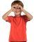 3321 Rabbit Skins Toddler Fine Jersey T-Shirt Vintage Orange