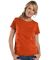 3516 LA T Ladies Longer Length T-Shirt VINTAGE ORANGE
