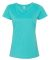 3516 LA T Ladies Longer Length T-Shirt CARIBBEAN