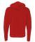 BELLA+CANVAS 3739 Unisex Poly-Cotton Fleece Hoodie RED