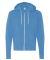 BELLA+CANVAS 3739 Unisex Poly-Cotton Fleece Hoodie NEON BLUE