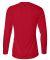 4164 Badger Ladies' B-Dry Core Long-Sleeve Tee Red