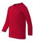42400B Gildan Youth Core Performance Long-Sleeve T RED