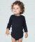 4411 Rabbit Skins Infant Baby Rib Long-Sleeve Creeper Catalog