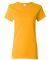 5000L Gildan Missy Fit Heavy Cotton T-Shirt GOLD