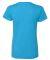 5000L Gildan Missy Fit Heavy Cotton T-Shirt HEATHER SAPPHIRE