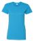 5000L Gildan Missy Fit Heavy Cotton T-Shirt HEATHER SAPPHIRE