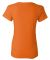 5000L Gildan Missy Fit Heavy Cotton T-Shirt S ORANGE