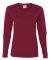 5400L Gildan Missy Fit Heavy Cotton Fit Long-Sleev CARDINAL RED