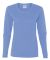 5400L Gildan Missy Fit Heavy Cotton Fit Long-Sleev CAROLINA BLUE