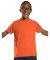 6101 LA T Youth Fine Jersey T-Shirt VINTAGE ORANGE