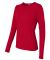 64400L Gildan Junior-Fit Softstyle Long-Sleeve T-S CHERRY RED
