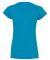 64V00L Gildan Junior Fit Softstyle V-Neck T-Shirt SAPPHIRE