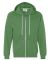 71600 Anvil Men's Fashion Full-Zip Hooded Sweatshi GREEN APPLE