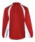 7702 Badger Adult Brushed Tricot Hook Jacket Red/ White
