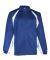 7702 Badger Adult Brushed Tricot Hook Jacket Royal/ White