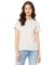 BELLA 6400 Womens Relaxed Jersey Tee VINTAGE WHITE