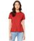 BELLA 6400 Womens Relaxed Jersey Tee HEATHER RED
