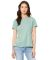 BELLA 6400 Womens Relaxed Jersey Tee HTH PRSM DSTY BL
