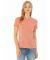 BELLA 6400 Womens Relaxed Jersey Tee HEATHER SUNSET