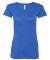 BELLA 8413 Womens Tri-blend T-shirt TRUE ROYAL TRBLN