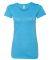 BELLA 8413 Womens Tri-blend T-shirt AQUA TRIBLEND