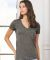 BELLA 8435 Womens Fitted Tri-blend Deep V T-shirt Catalog