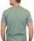 Gildan 5000 G500 Heavy Weight Cotton T-Shirt HTHR MILITRY GRN