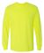 5400 Gildan Adult Heavy Cotton Long-Sleeve T-Shirt SAFETY GREEN