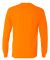 5400 Gildan Adult Heavy Cotton Long-Sleeve T-Shirt S ORANGE