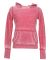 J8912 J-America Ladies' Vintage Zen Hooded Fleece Wildberry